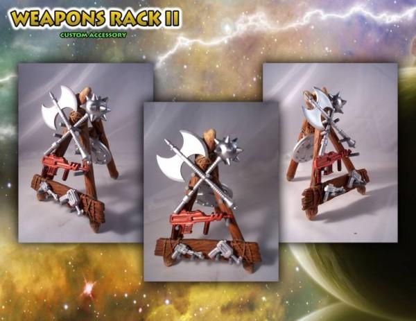 MOTU Classics - Weapons Rack II ''The Forgotten One'' - Barbarossa Art