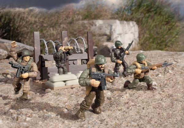 platoon patrol WW2 call of duty mega bloks