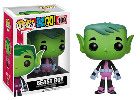 pop funko teen titan beast boy
