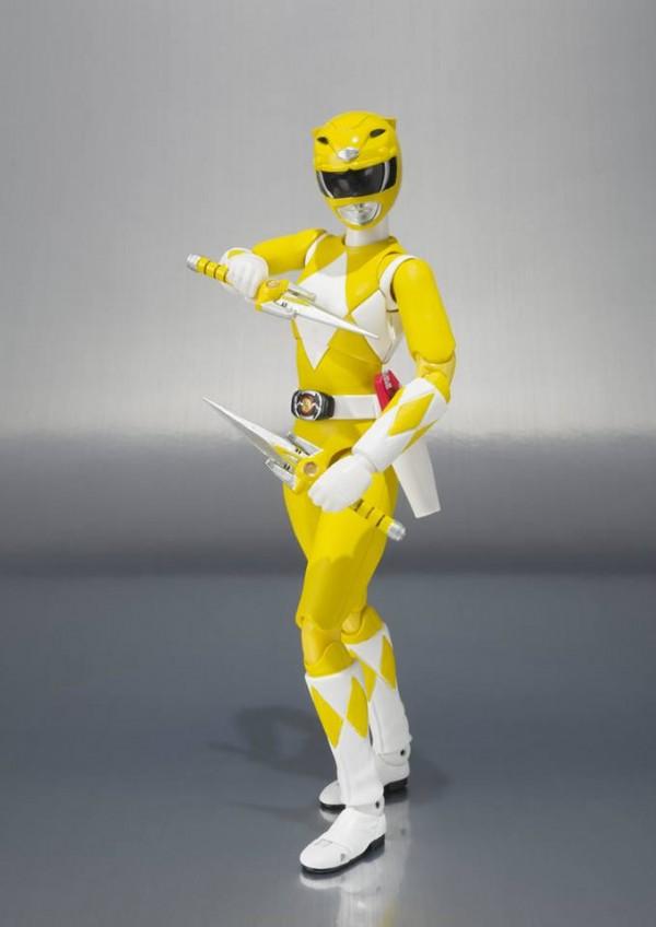 power rangers tamashii yellow