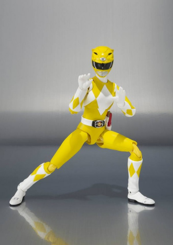 power rangers yellow tamashii sh figuarts 2