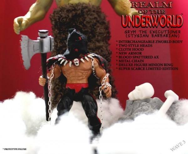Realm Of The Underworld GRYM - THE EXECUTIONER (STYGIAN BARBARIAN)