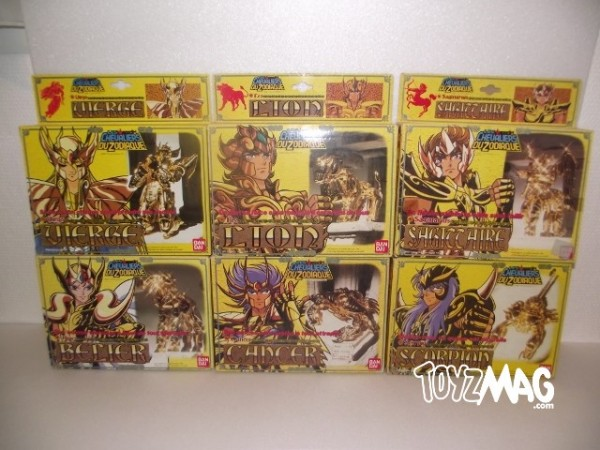 Chevaliers d'Or Saint Seiya Chevaliers du Zodiaque V1 vintage
