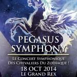 Pegasus Symphony la musique de Saint Seiya en concert Live