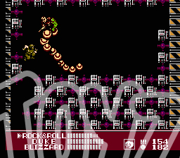 gijoe arah nes video game golobulus