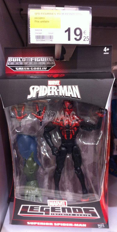 Marvel legends infitiy serie Spider-man