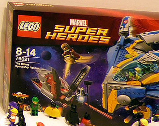 Guardians of the Galaxy LEGO Set 76021