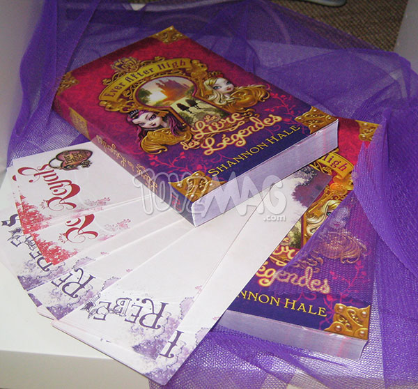 livre Ever After High