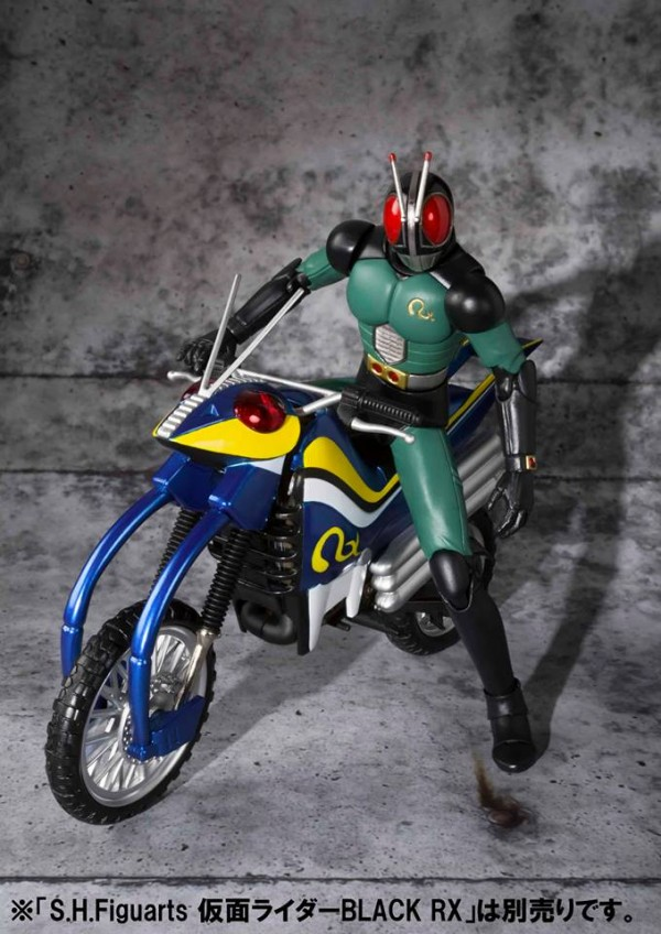 S.H.Figuarts - Moto Acrobatter - Kamen Rider Black Rx