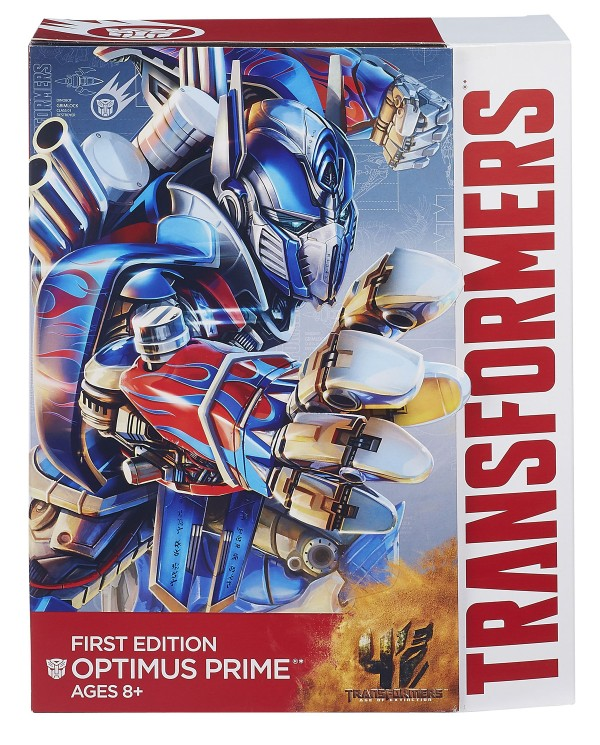 HASBRO UNVEILS TRANSFORMERS: AGE OF EXTINCTION FIRST EDITION OPTIMUS PRIME FIGURE