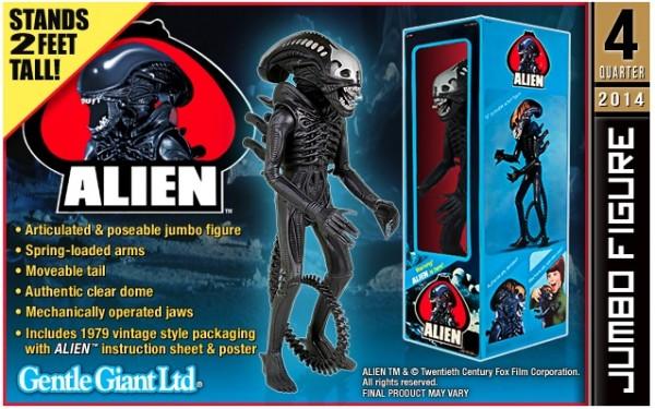 alien gentle giant kenner