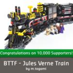 Lego Cuusoo Retour vers le Futur, le Train va entrer en gare