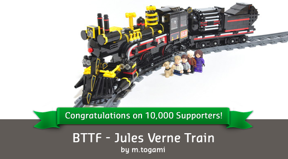 BTTF - Jules Verne Train