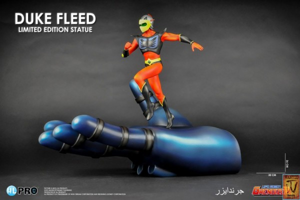 Duke Fleed in Grendizer's Hand Fine Art Statue - High Dream