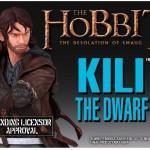 The Hobbit : buste de Kili le nain