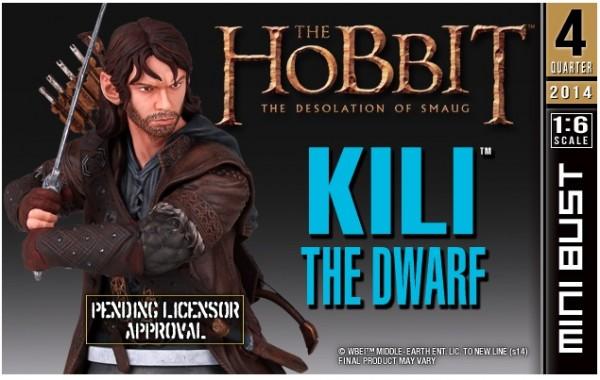 kili hobbit smaug bust gentle giant