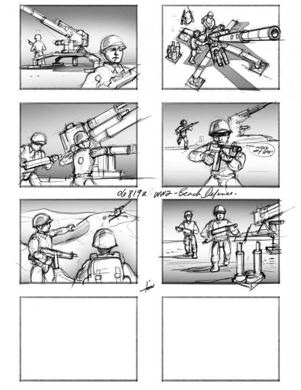 mega bloks call of duty storyboard