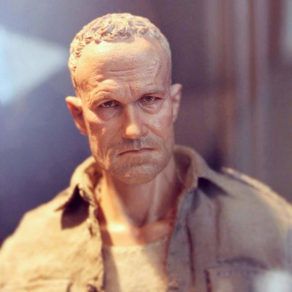 merle dixon walking dead WIP threezero