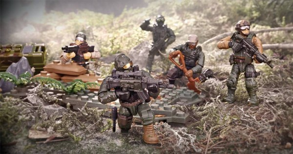 mw call of duty mega bloks jungle troopers