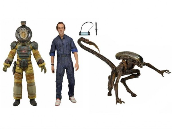 neca serie 3 alien kane bishop dog