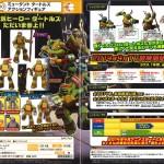 TMNT : Takara Tomy se lance dans les Tortues Ninja