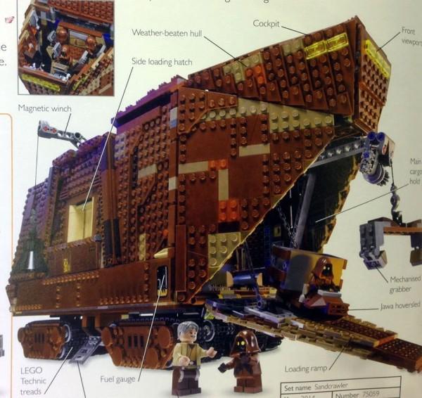75059 sandcrawler  LEGOSTAR WARS