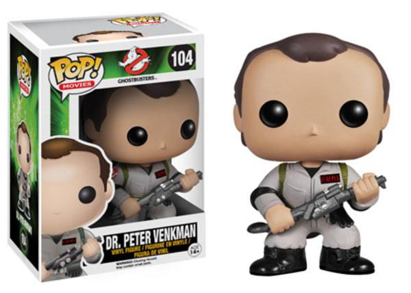 Pop! Funko Ghostbusters Peter Venkman