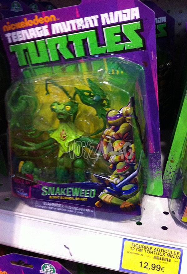 Tortues ninja Snakeweed