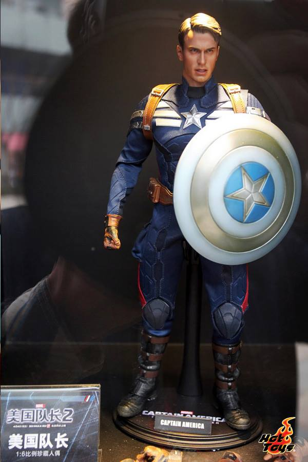 captain america shield suit hot toys