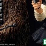 Han Solo et Chewbacca en duo par Kotobukiya