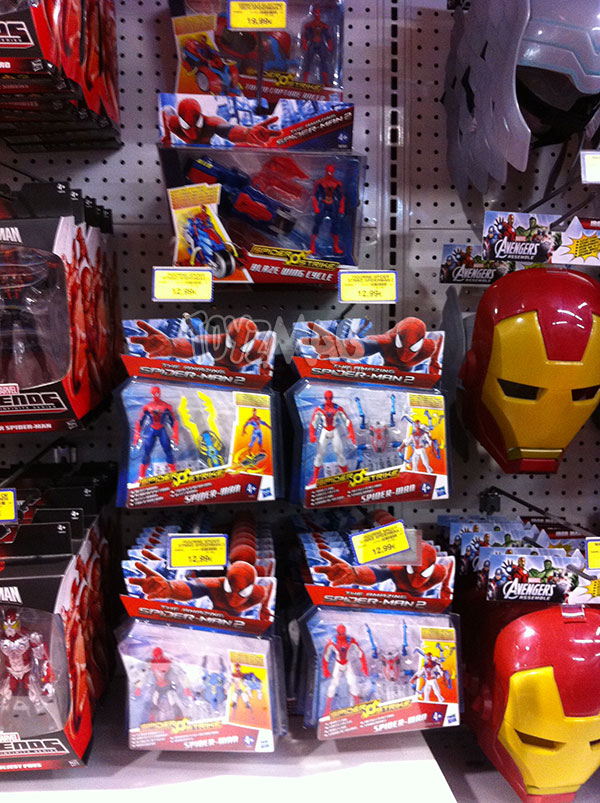 jouet et figurines Spider-man amazing 2