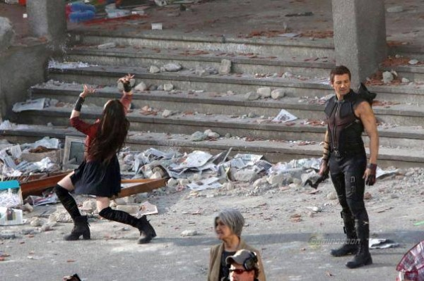 hawkeye et scarlet witch