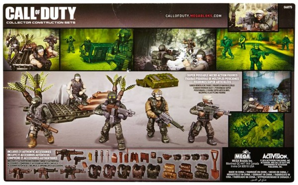 jungle troopers mega bloks call of duty
