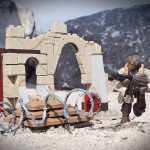 Call of Duty : mini-set Mega Bloks Desert Outpost