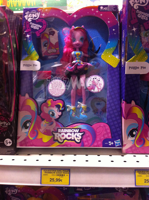 My Little Pony Equestia Girls Rainbow Rock