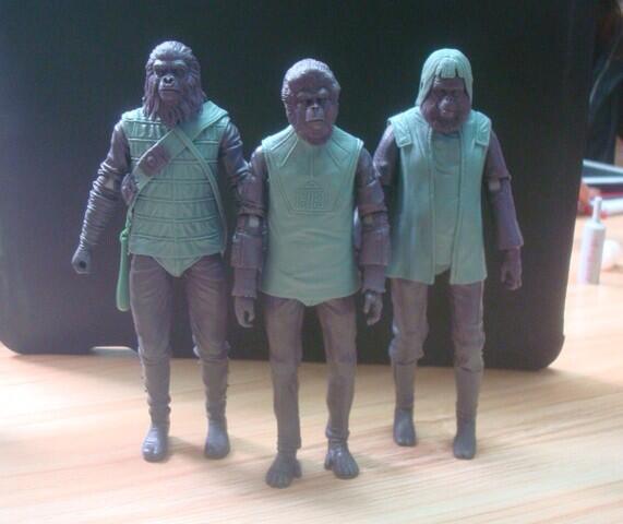 neca monkey monday classic series POTA