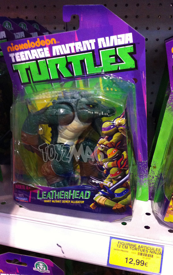 Tortues ninja Leatherhead