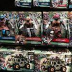 Tortues Ninja les figurines du film se dévoilent