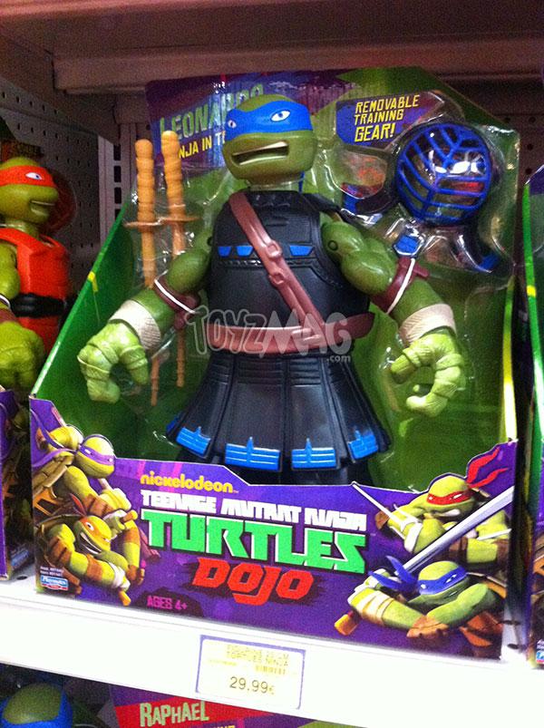 tortues ninja Dojo Leo