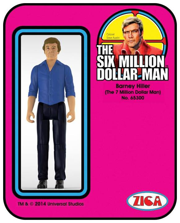 Barney Hiller L'Homme qui valait trois milliards The Six Million Dollar Man  Zica Toys