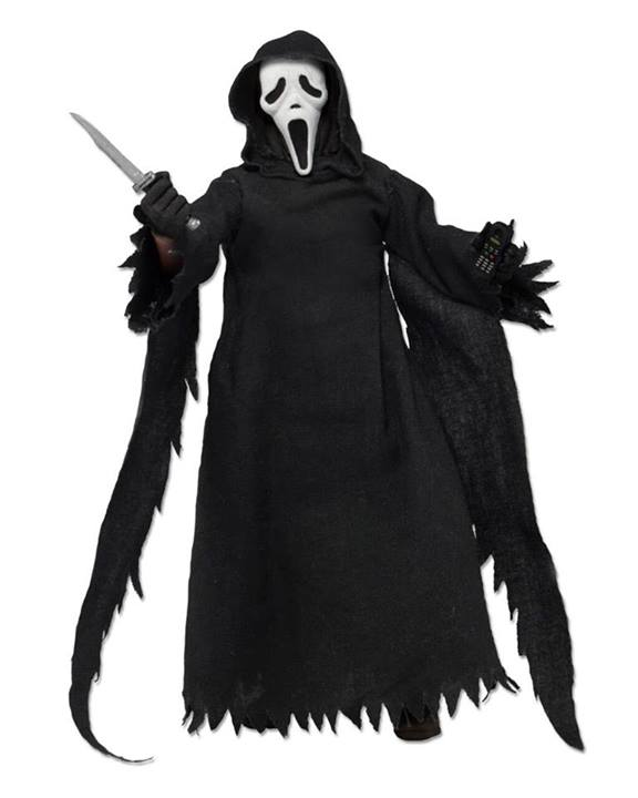 """the Ghost Face 8"""" Clothed Action Figure NECA"""