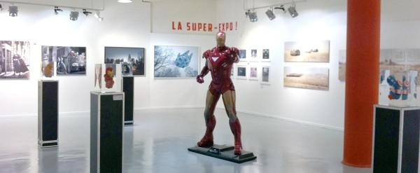 LA GALERIE SAKURA PRESENTE :  LA SUPER EXPO ! OU LE CÔTÉ OBSCUR DES SUPER-HÉROS