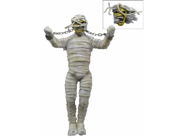 NECA retro-cloth Mummy Eddie Iron Maiden