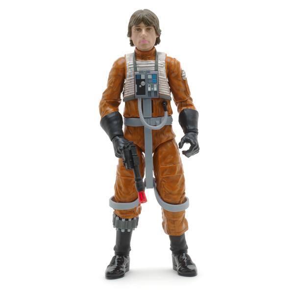 Star Wars- Intergalactique Exclu Disney Store  luke Skywalker Xwing