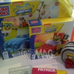 Exclu : Mega Bloks Bob L'éponge le packaging