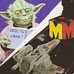 Vintage Star Wars du Vendredi : un X-Wing en métal... à roulettes !