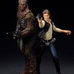 Kotobukiya : Star Wars Han Solo & Chewbacca ARTFX+ Statue