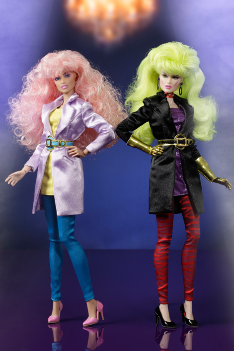"JEM & THE HOLOGRAMS""IN STITCHES DUET"" GIFTSET BY INTEGRITY TOYS"
