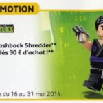 TMNT Flashback Shredder la prochaine mini fig Promo LEGO
