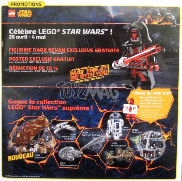lego star wars promo mai the 4th be with you